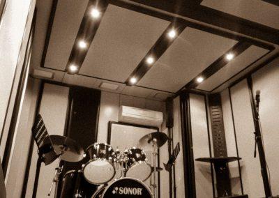 la batteria sono per la scuola di musica a genzano